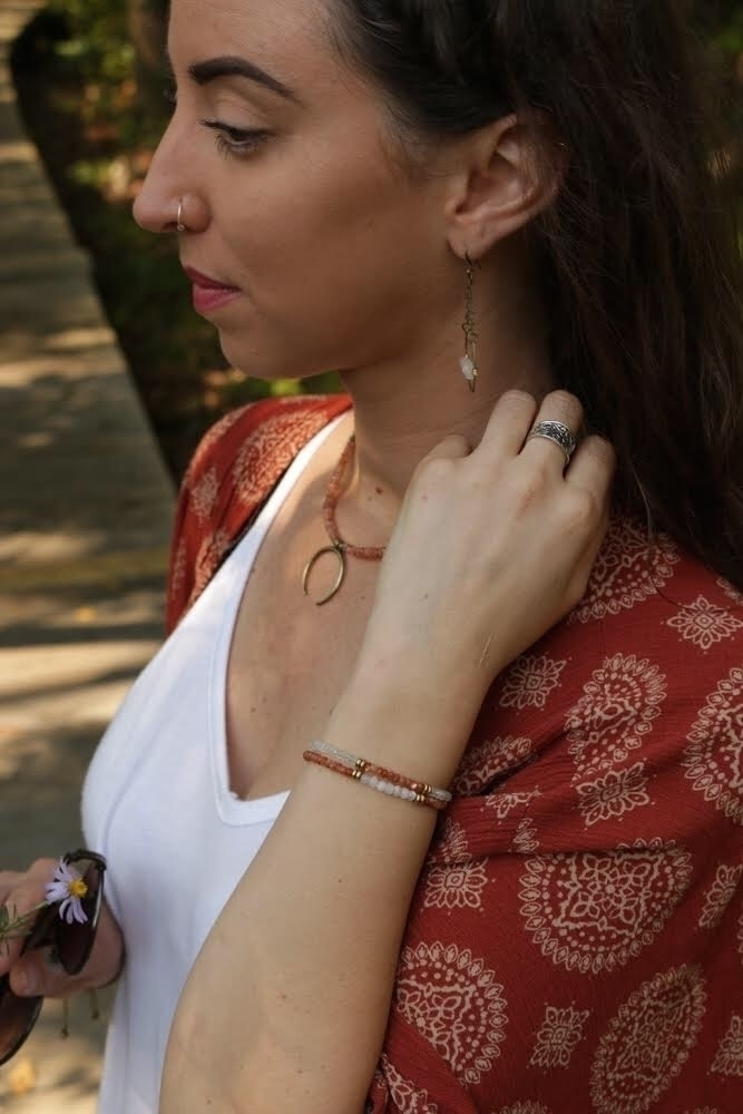 Sunstone Moonstone jewelry - accessories - emmandflow | ello