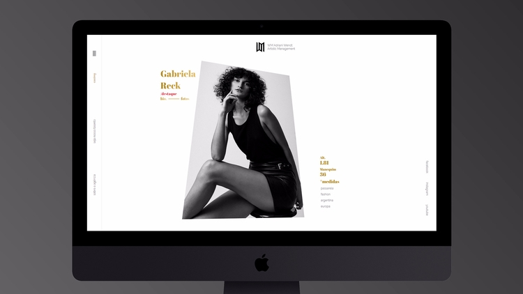 Website Adriani Wendt - bimor | ello