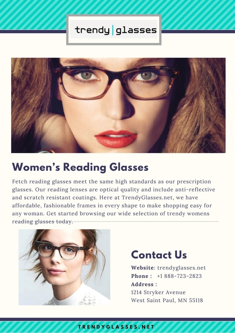 Woman Reading Glasses Trendy, c - trendyglasses | ello