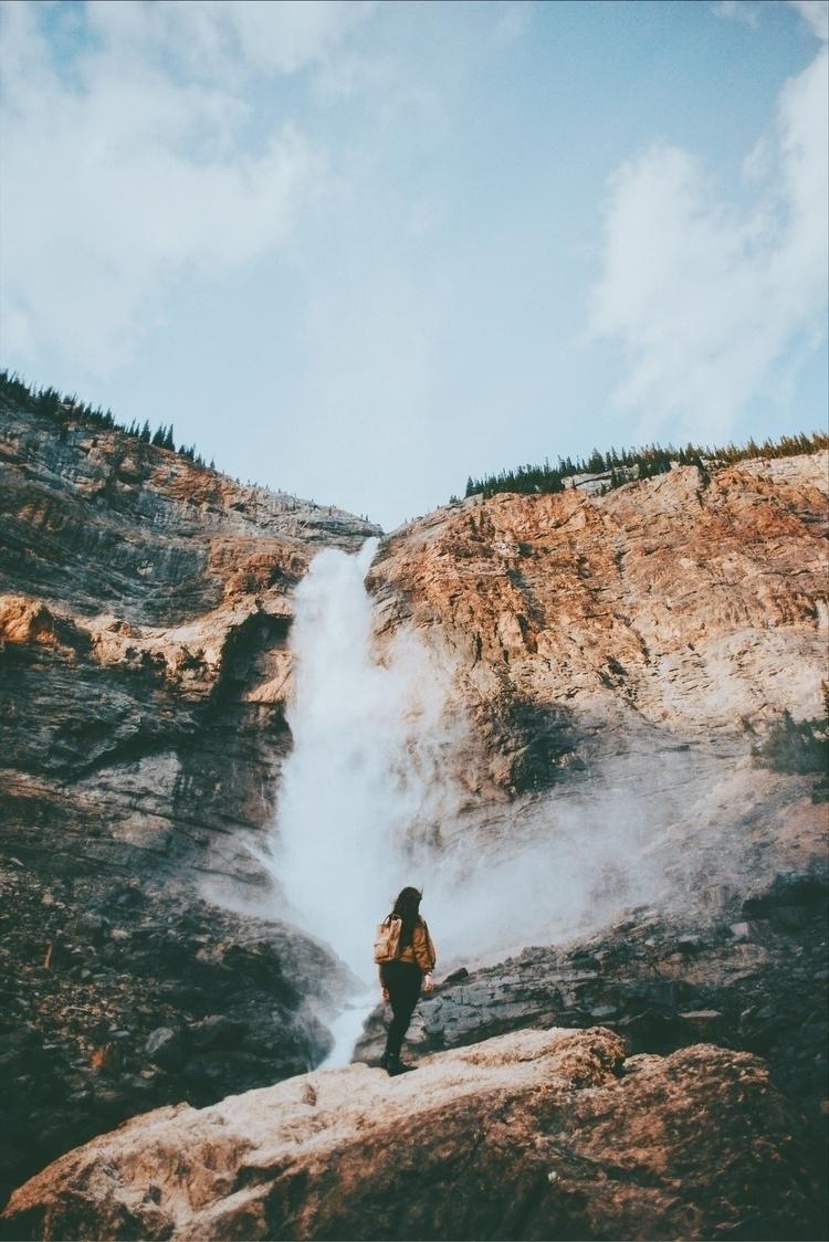 waterfall, running wild free. T - davidarias | ello