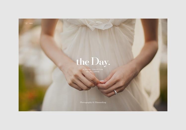 Visual identity website Day des - northeastco | ello
