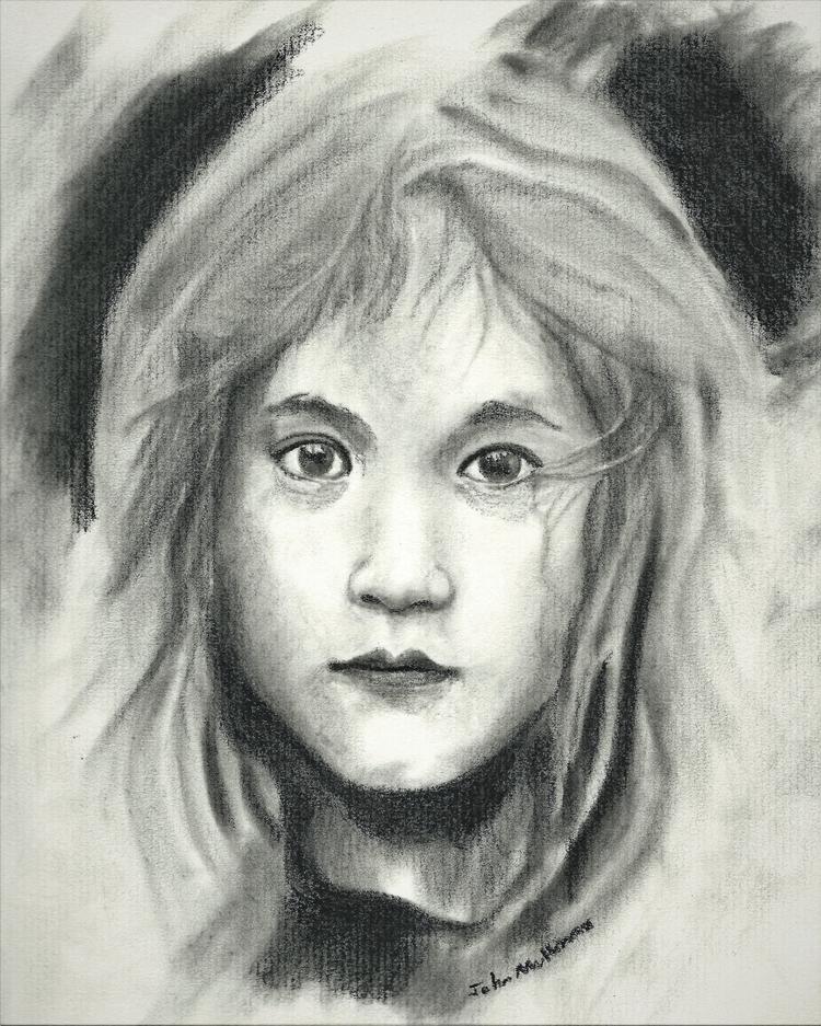 Girl 10 years Charcoal Strathmo - johnmullinax | ello