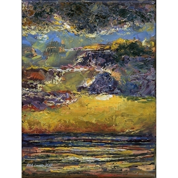South Maui. Oil 6x 8 inches - fun - richlovato | ello