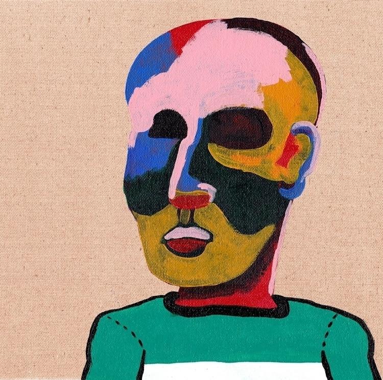 Joann - art, modern, portrait, figurative - davidmesquivel | ello