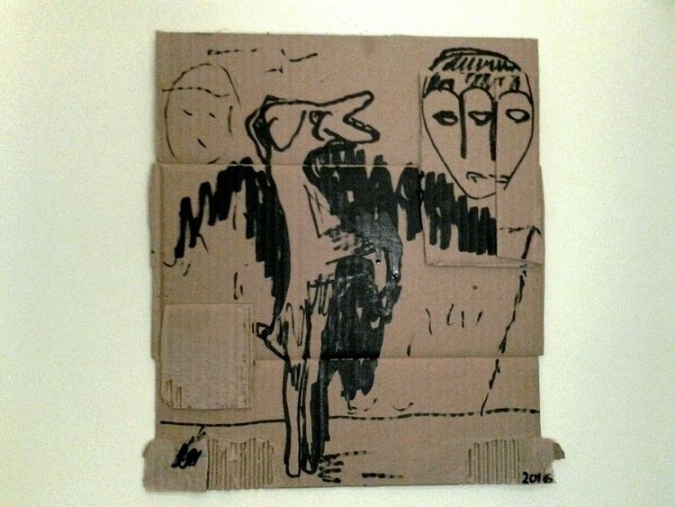 drawing, cardboard - anthonycandkarenm | ello