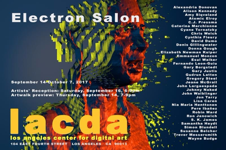 Electron Salon opens Sept 14 ru - chriswelch_72 | ello