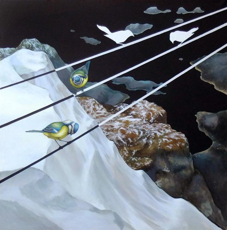 Top painting message distress M - anneangel   ello