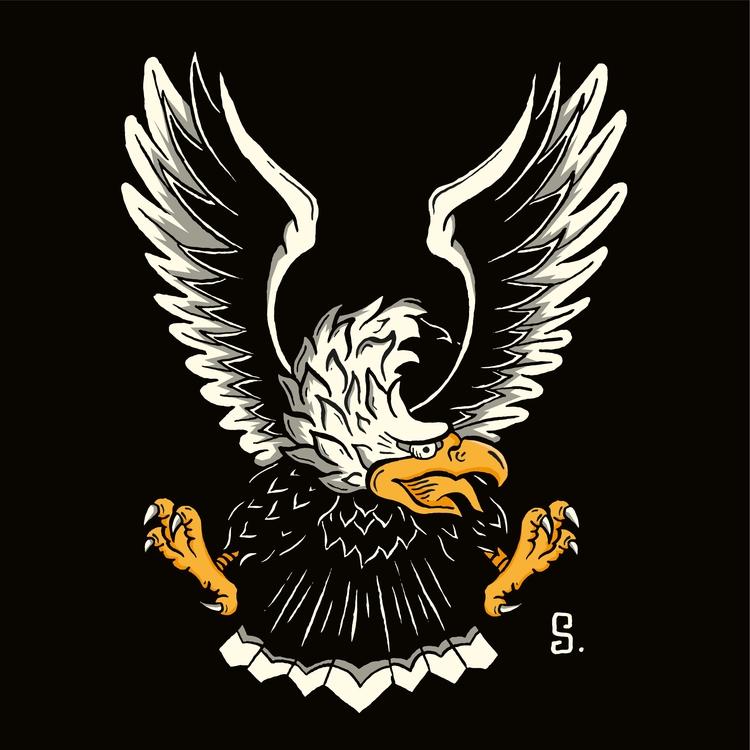 illustration eagle. love eagles - bystigma | ello