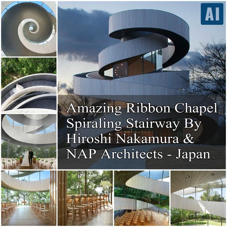 – Spiraling Stairway Nakamura N - architecturesideas | ello