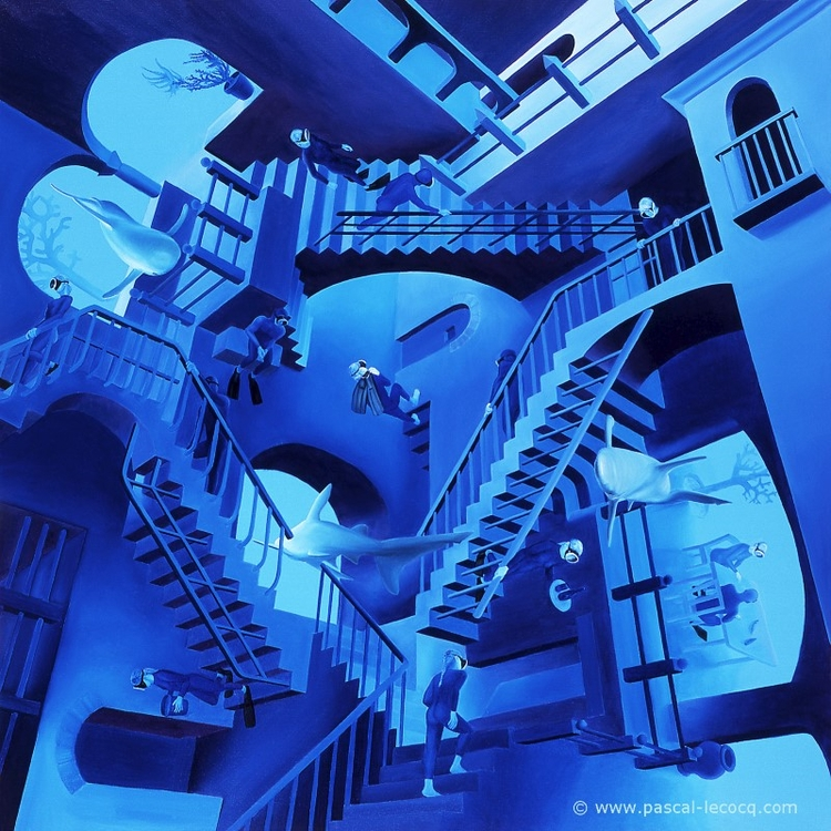 CLIMBING Homage - Monter descen - bluepainter | ello