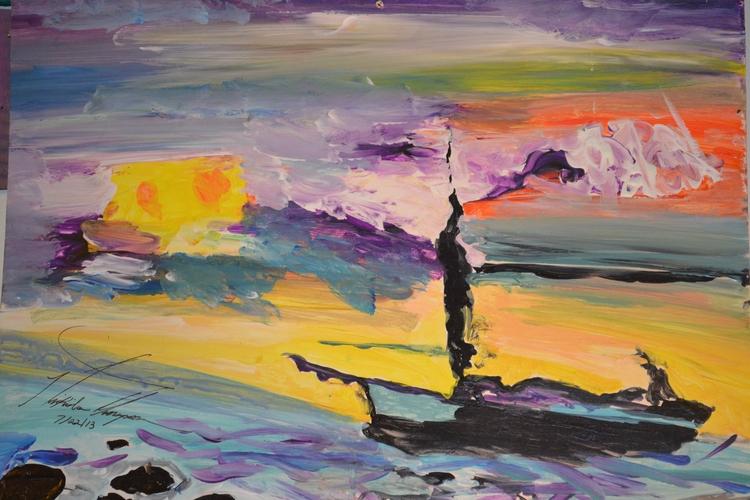 Boat Lake Dream - loveartwonders | ello