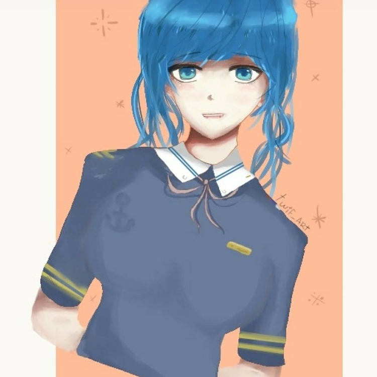 Digital anime girl  - digital, art - twif_art | ello