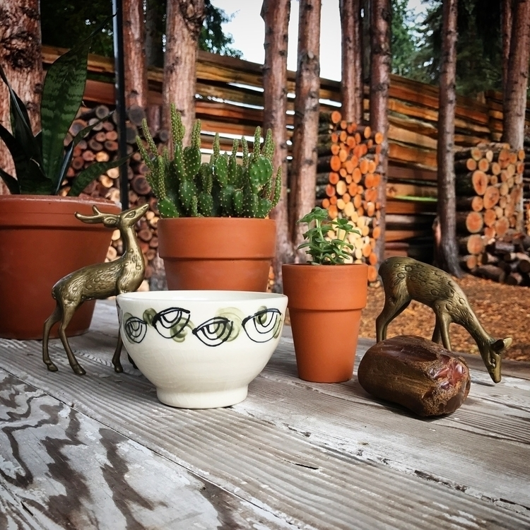 green eyed porcelain bowls Octo - highyieldstudio | ello
