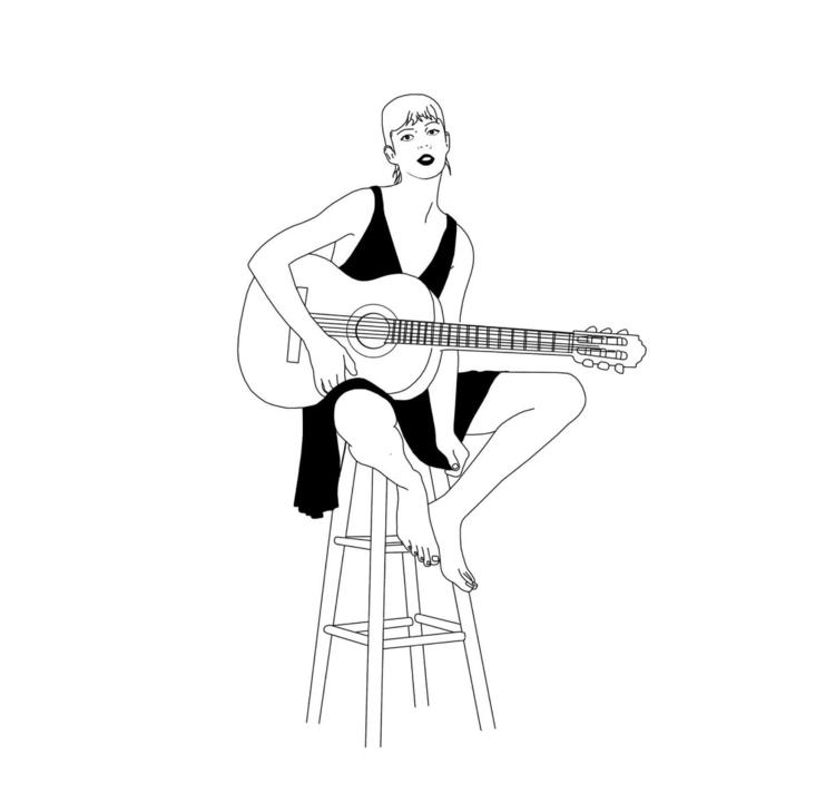 guitar lesson, 2017 - gautierberthoumieux   ello