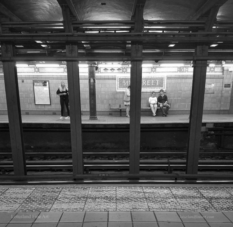 51st St. Station, 12 September  - wlotus   ello