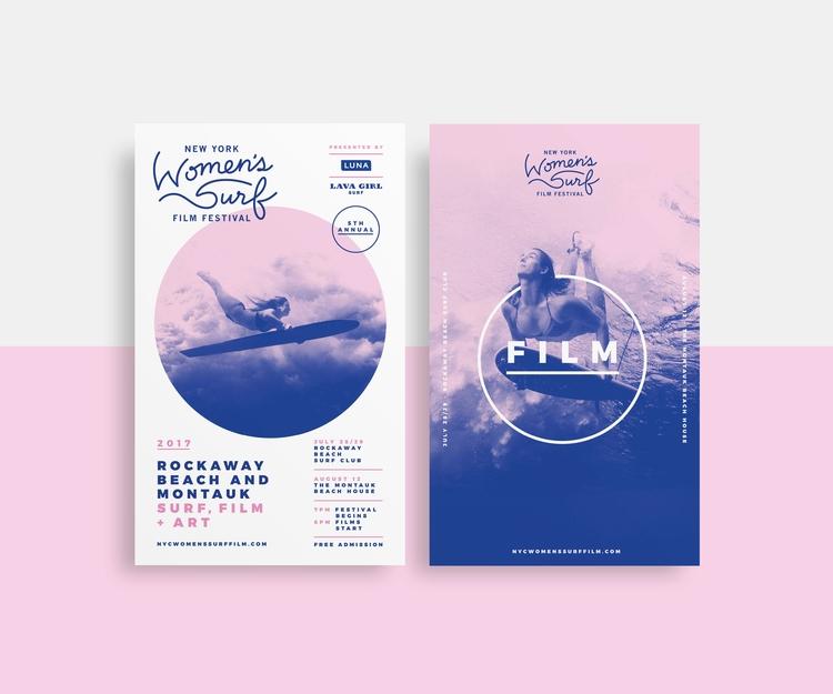 Brand Identity: York Surf Film  - benim_jbweb | ello