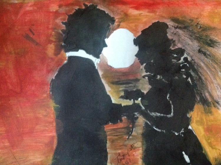 Married Sunset - loveartwonders   ello