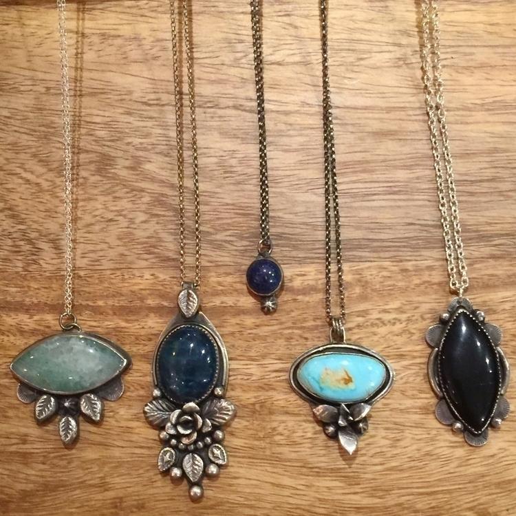 wildearthjewelry, mossagate, apatite - wildearthjewelry | ello