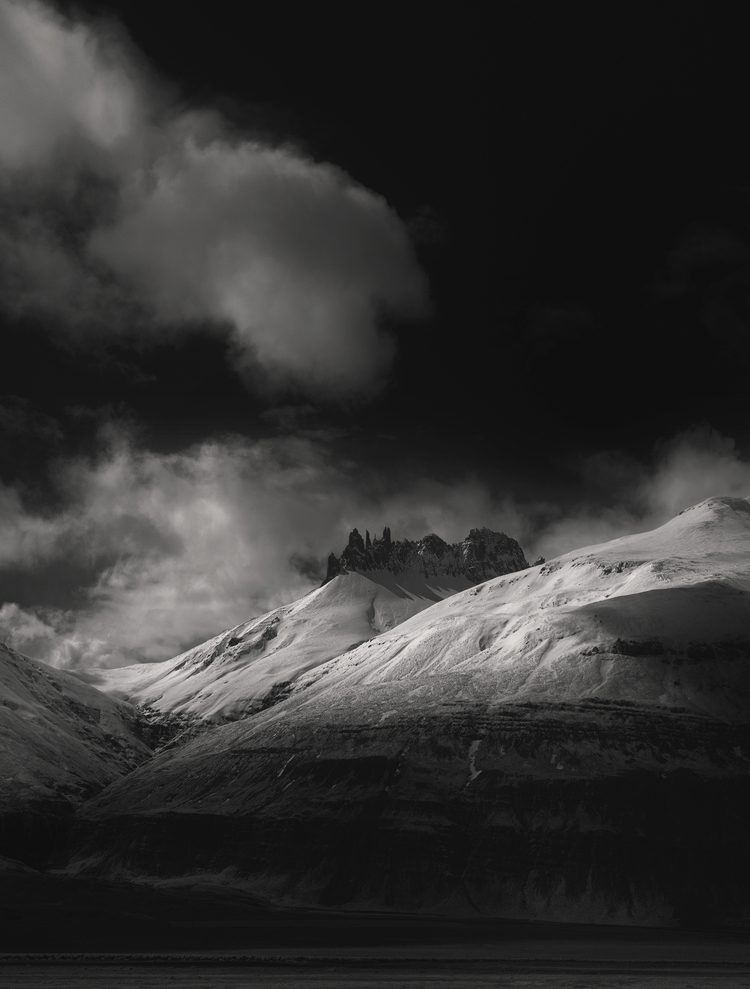 iceland - infrared, photography - andyleeuk | ello
