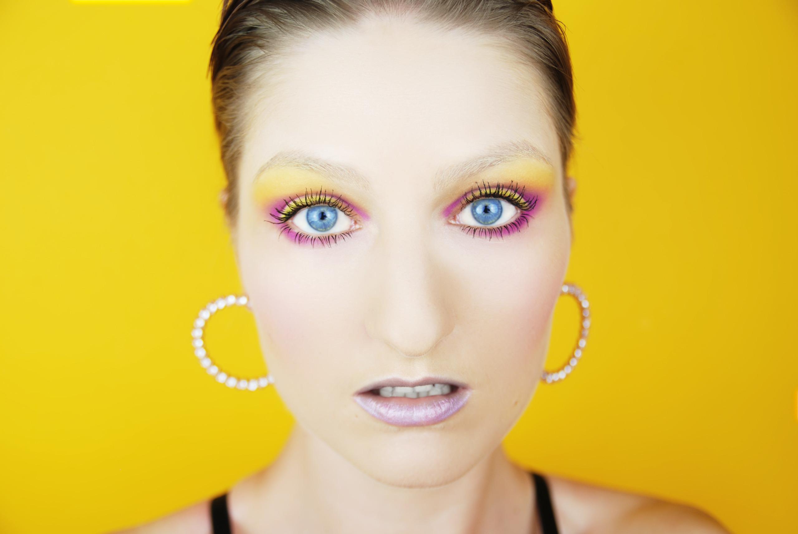 Make-up inspirowany obrazem. M10_by_Wojciech Fangor