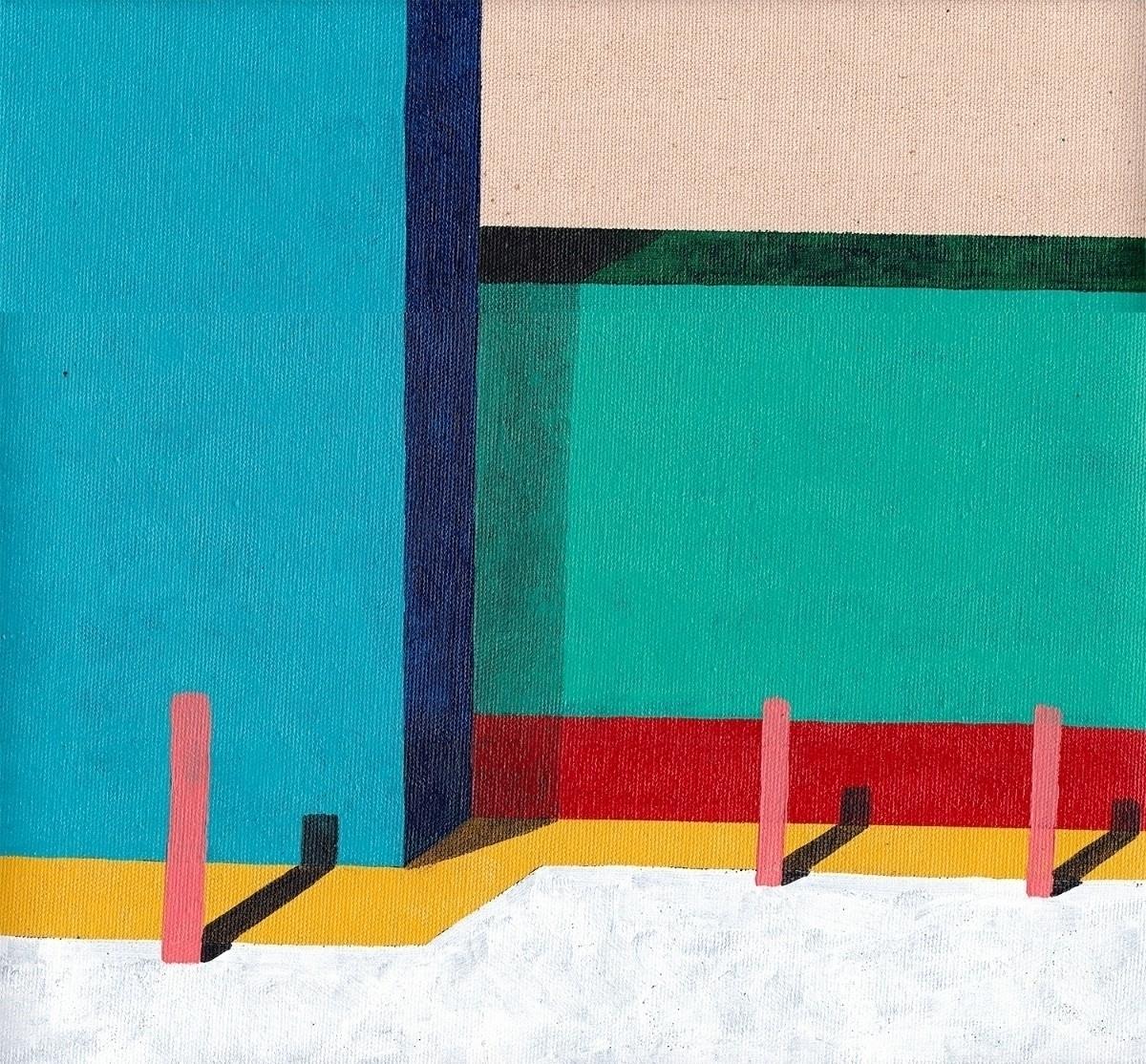 York St - art, minimal, modern, painting - davidmesquivel | ello