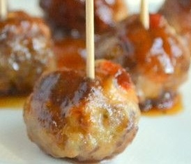 Bourbon BBQ Meatballs - Recipes - recipesbysara | ello