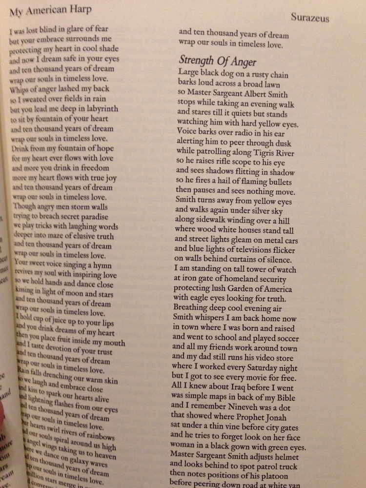 American Harp 1,169 poems wrote - surazeus | ello