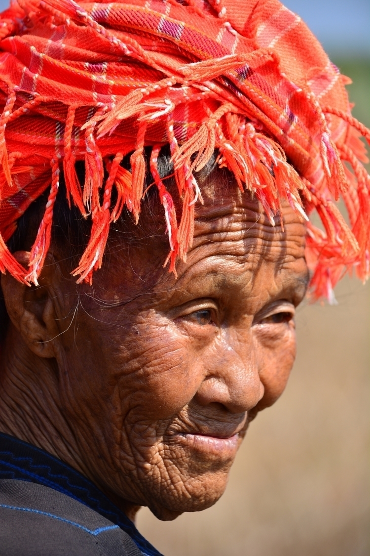 Myanmar 2014. woman pepper fiel - cathynicholsonart | ello