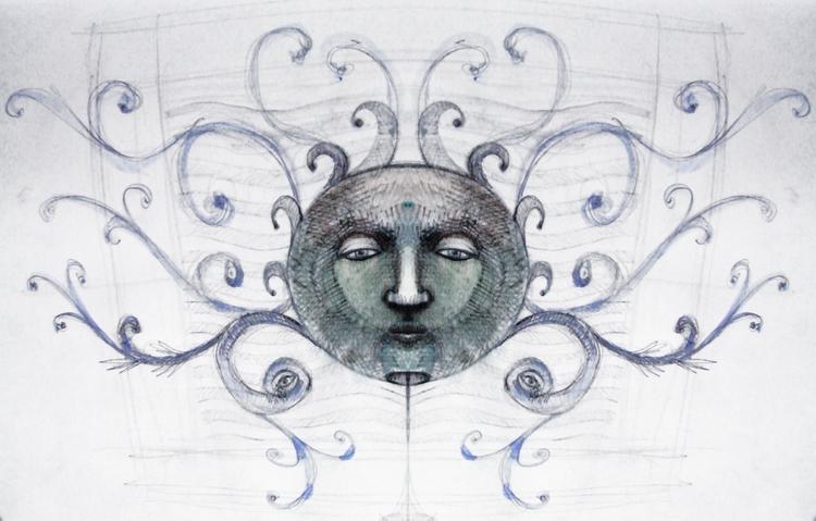Sketch / Digital Simetry - euric | ello