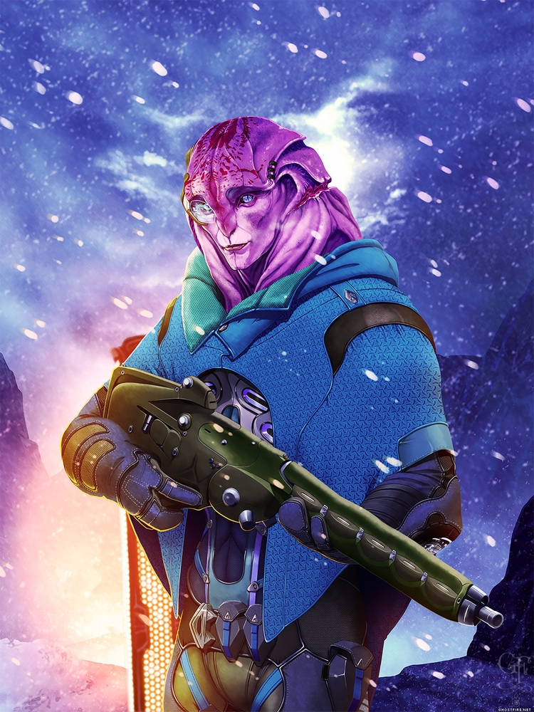 Jaal Mass Effect: Andromeda - ghostfire | ello