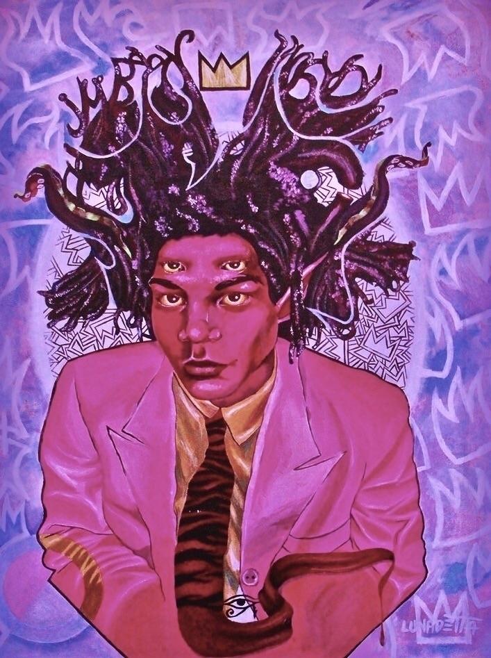 Strawberry Basquiat - Rhalik Lu - rhaliklunadetta | ello