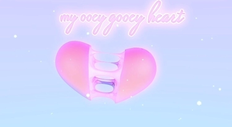 Gooey heart - heart#c4d#render#cgi#contemporary#graphics#design#digitalart#digital#3d#3dart#art#colourful#vaporwave - bambi_kirschner | ello
