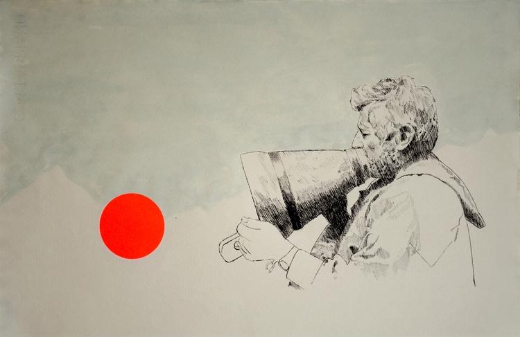 Ave Maria (Drawing, 2016) / Vel - daviddiehl | ello