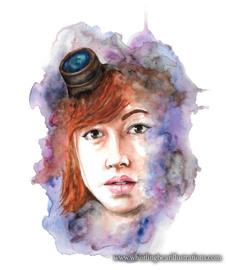 Steam Girl - fantasy, fairytale - whistlingbear | ello