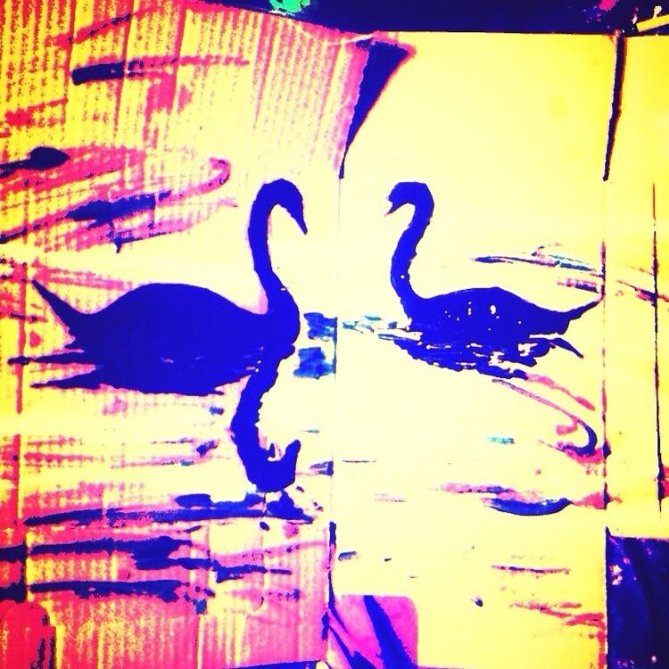 Swan Love - loveartwonders | ello