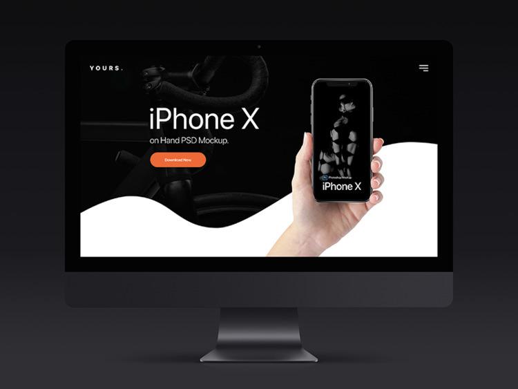 Free Dark Banner - iPhone Hand  - tranmautritam | ello
