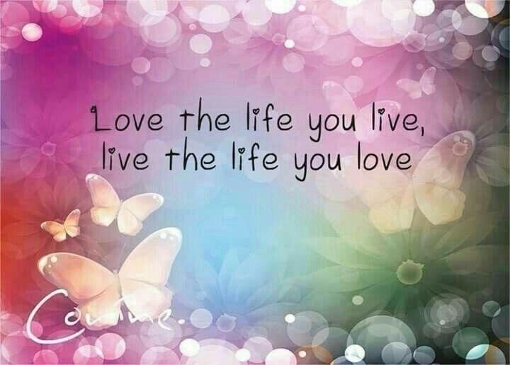 Love life live - thankful, grateful - paulgoade | ello