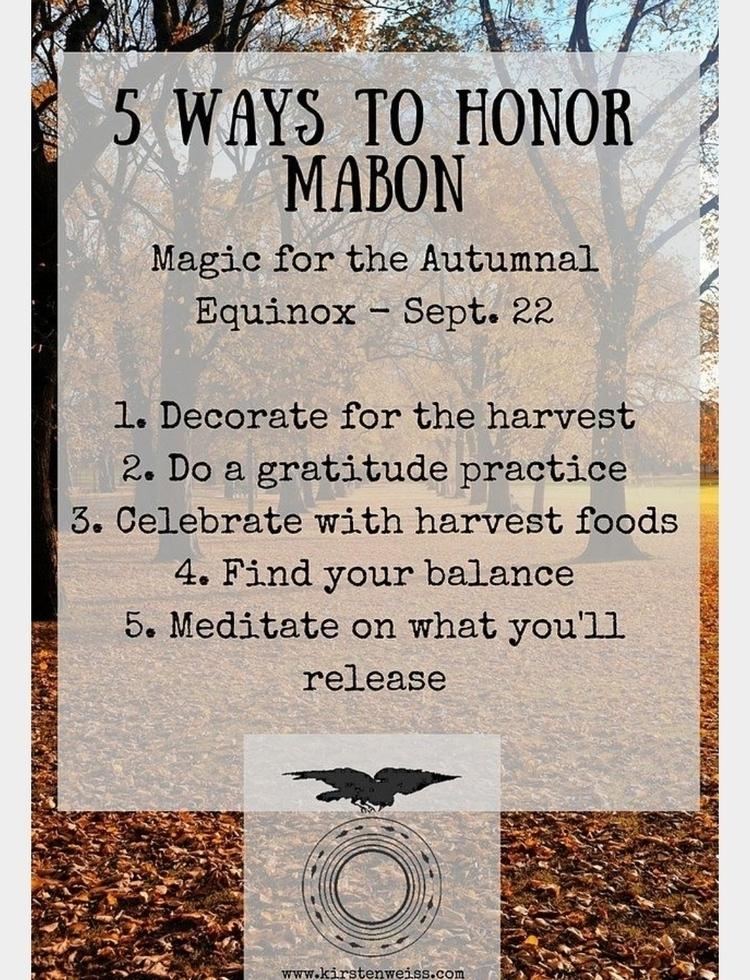 mabon, autumn, equinox, gratitude - spacemonster | ello