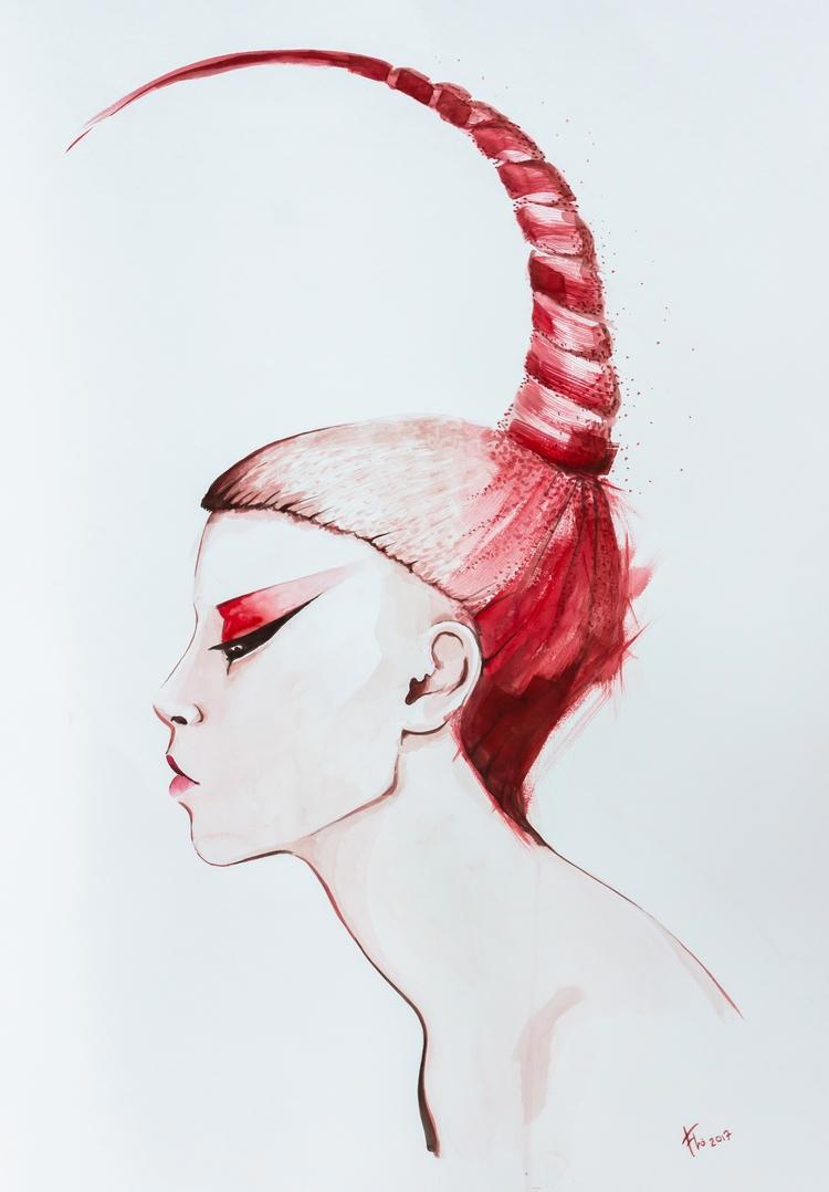 Scorpio - scorpio, red, hair, girl - flolmi | ello