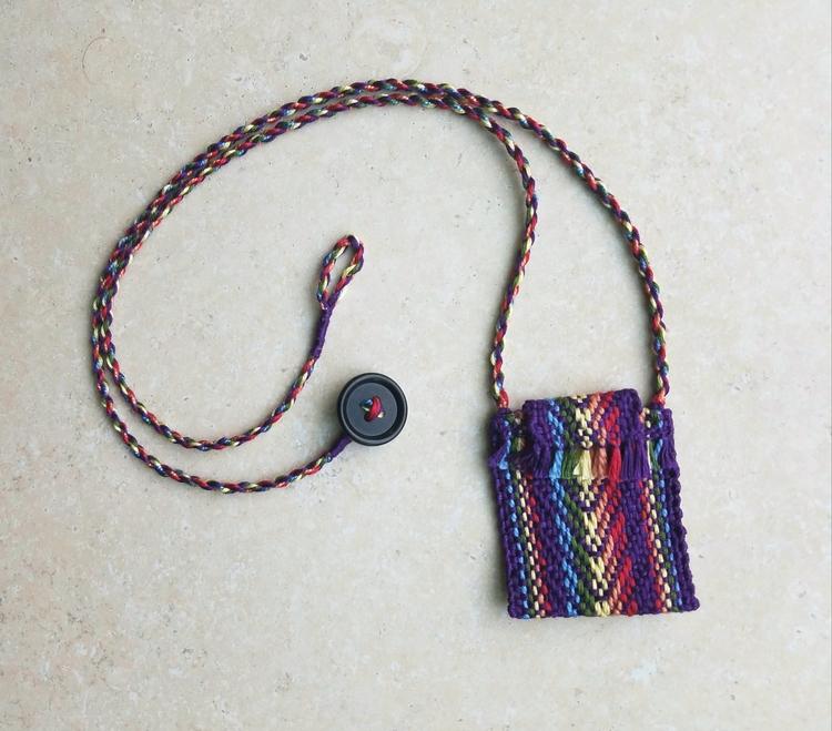 Rainbow Medicine Bag - medicinebag - annabweaving | ello