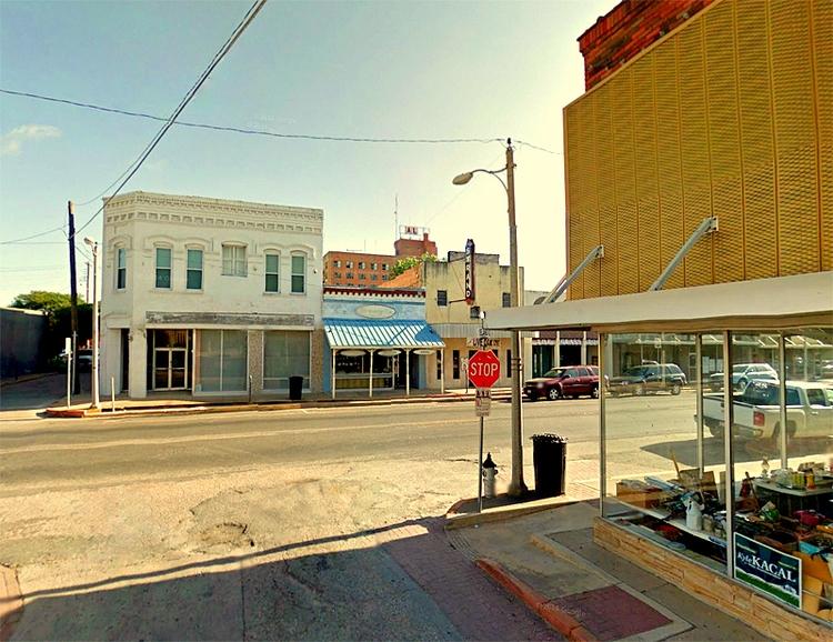 Island Street, Marlin, Texas - rephotography - dispel | ello