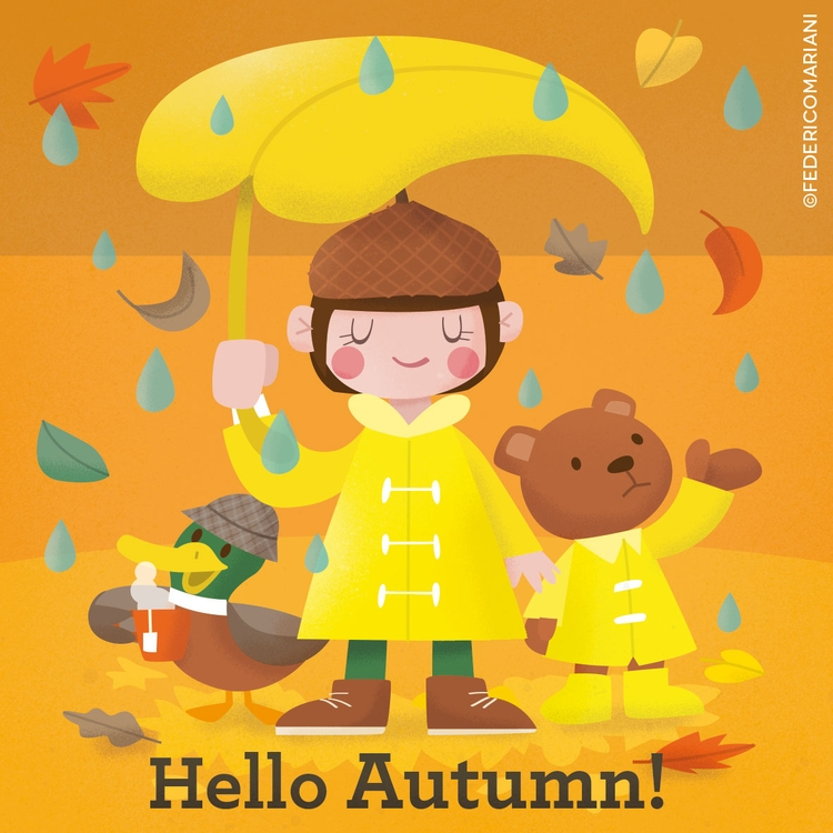 Ciao Bienvenue - autumn!, fall! - federicomariani | ello