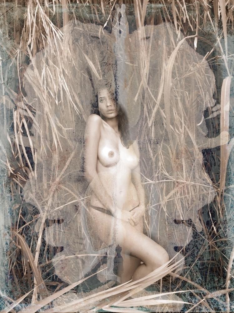 Mixed media painting  - experimental - danielstanford   ello