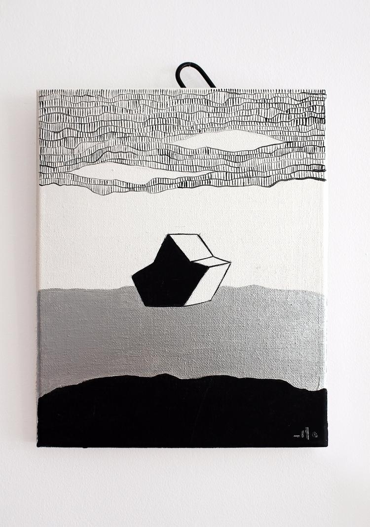_Sail dip, 21x29,7 cm, acrylic - ilobahie   ello