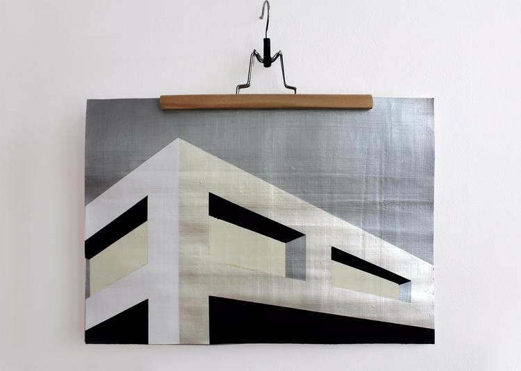 _Architectture, 40x50 cm, acryl - ilobahie | ello