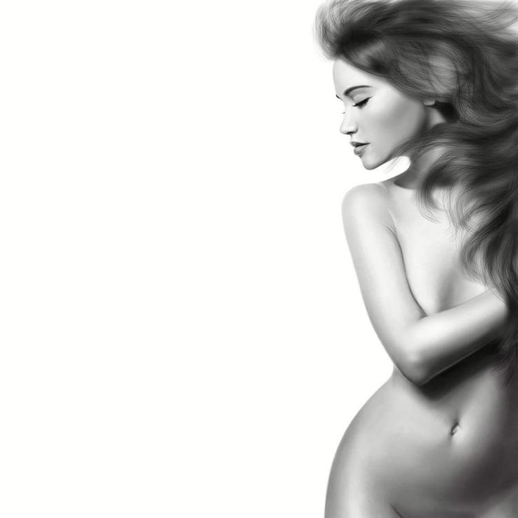 Digital painting - digital, nude - bymosler | ello