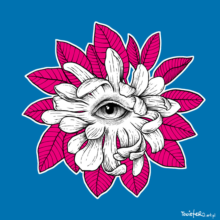 ThirdEye - eye, flower, magnolia - toniefer | ello