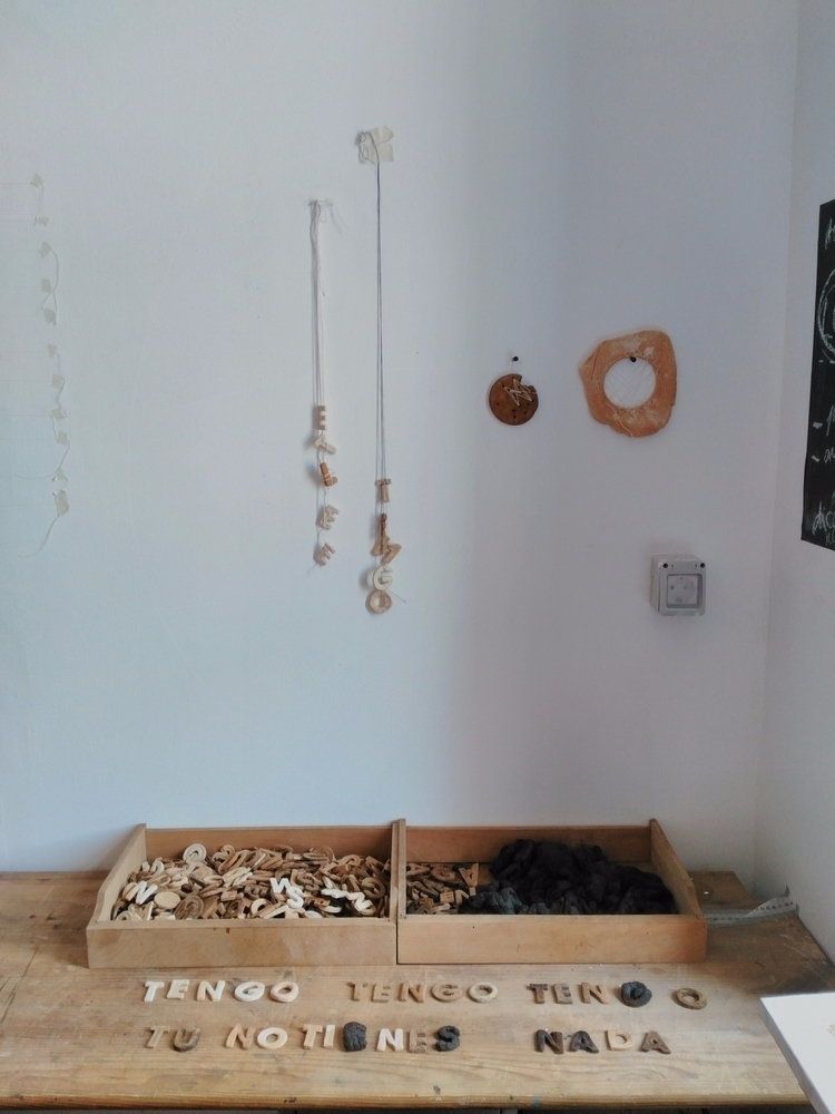 open studio day; piece idea  - artistandmom - hauering | ello