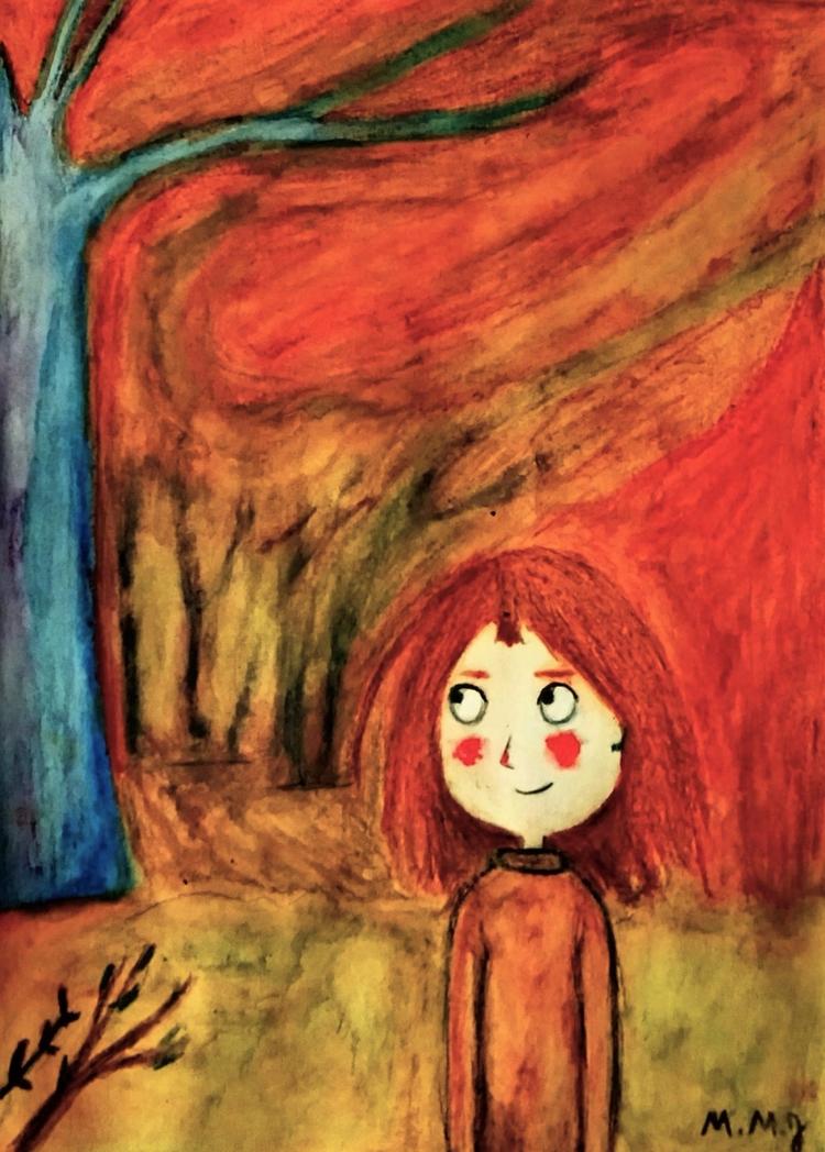 autumn, autumnfalls, illustration - maksmj | ello