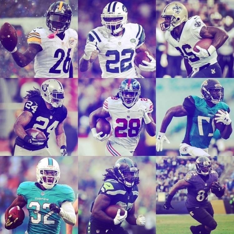 Running Backs NFL talents sport - coolfreedude | ello